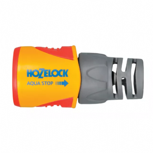 "Hozelock 2055 Aquastop Plus Hose Connector 12.5mm - 15mm (1/2"" - 5/8"")"